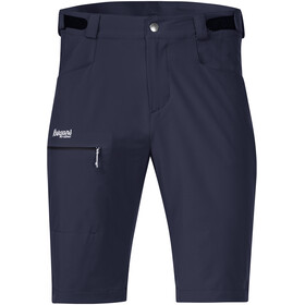Bergans M's Slingsby LT Softshell Shorts Dark Navy/White